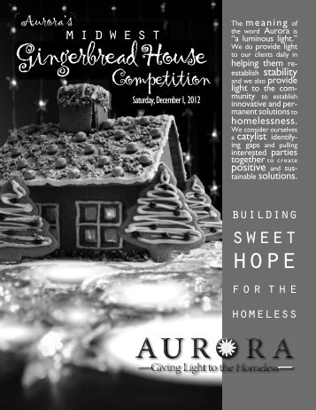 Gingerbread PROGRAM 2012.indd - Aurora, Inc.