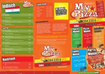 Schnitzel Menue - My Pizza