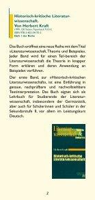 Literaturwissenschaft. Theorie und Beispiele - Aschendorff - Seite 2