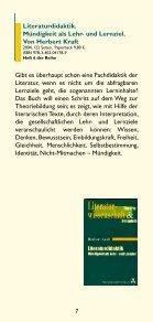 Literaturwissenschaft. Theorie und Beispiele - Aschendorff - Seite 7
