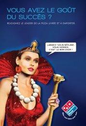 notre brochure de présentation - Domino's Pizza