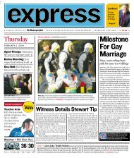 Milestone For Gay Marriage - Express
