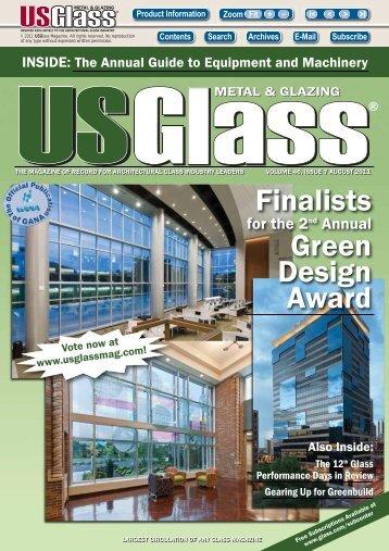 August 2011 - USGlass Magazine