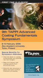 9th TAPPI Advanced Coating Fundamentals Symposium 8-10