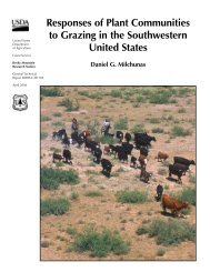 Responses of plant communities to grazing in the - Natural ...