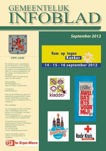 86. Infoblad sept 2012 - Welkom op de site van de gemeente Erpe ...