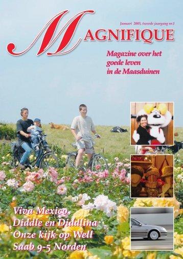 Januari 2005, tweede jaargang nr - Magnifique Magazine