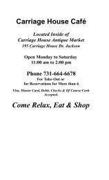 Cafe_files/Web Page Menu.pdf - Carriage house antique market ...