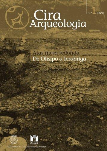 Cira Arqueologia Nº 1 (junho '12) - Atas mesa - Câmara Municipal ...