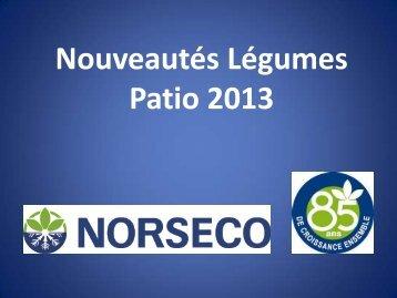 Légumes de patio 2013 format PDF - Norseco