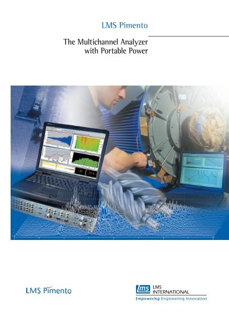 LMS Pimento The Multichannel Analyzer with Portable Power - UPC