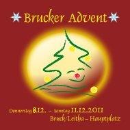 Brucker Advent - Werbegemeinschaft Bruck