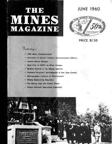 T H E M A G A Z I N - Mines Magazine - Colorado School of Mines
