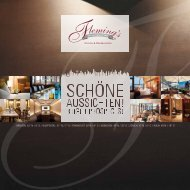 Fleming's Imagebroschüre [PDF] - Fleming's Hotels und Restaurants