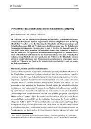 IW-Trends 2/2008 - Institut der deutschen Wirtschaft Köln