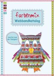 Webbandkatalog - Farbenmix