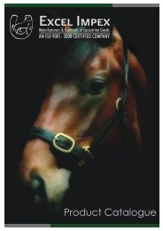 Halters-Harness-Accessories Catalogue PDF (4.70 MB) - Excel Impex