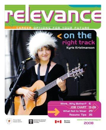 2008 - Relevance Magazine