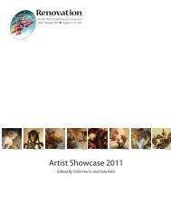 Artist Showcase 2011 - Renovation
