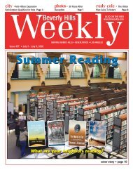 Summer Reading - Beverly Hills Weekly