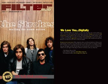 We Love You...Digitally - FILTER Magazine