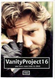 open PDF - Vanity Project fanzine