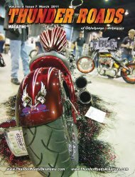 Volume 9 Issue 7 March 2011 - Thunder Roads of Oklahoma/Arkansas