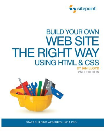 Build Your Own Web Site The Right Way Using HTML ... - Max-Inc.com