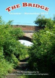 The Bridge for October & November - Bridge Parishes