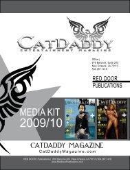 MEDIA KIT - CatDaddy Magazine