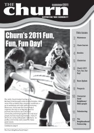 Summer 2011 - The Churn Project