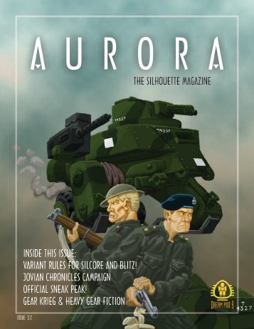 Issue 3.2 - Aurora, the Silhouette Magazine