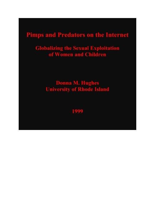 Pimps And Predators On The Internet University Of Rhode Island