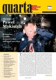 Quarta - Polish Contemporary Music Magazine