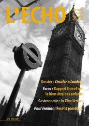 Dossier :Circuler à Londres Focus - ECHO, le magazine des familles ...
