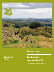 Going local - National Trust