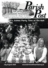 Read the July / August 2012 edition online - Ollerton with Marthall