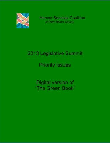 The Green Book - Human Services Coalition - Home