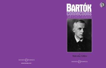 Bartok Cover - Boosey & Hawkes
