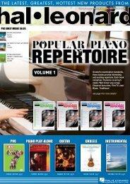 VOLUME 1 - Hal Leonard Australia