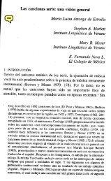 Las canciones seris: una visión general María Luisa ... - Lengamer