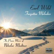The Piano Music of Nikolai Medtner - Ivory Classics