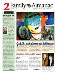 C.A.R. art show at Allegro - Almanac News