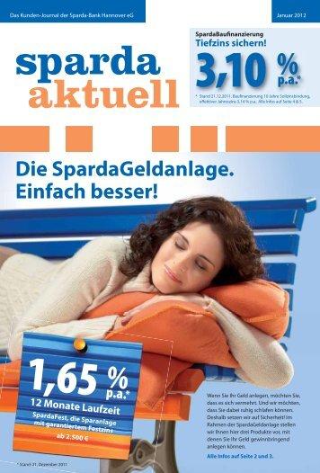 Januar 2012 - Sparda-Bank Hannover eG