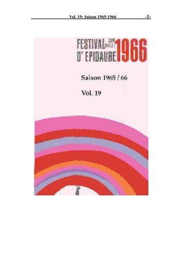 Vol. 19: Saison 1965-1966 - 1-