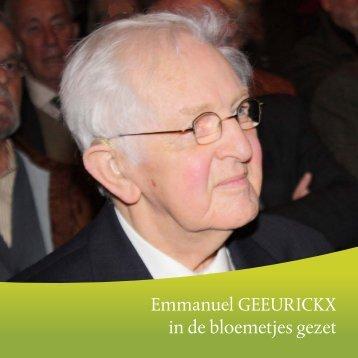 Emmanuel Geeurickx gehuldigd te Merchtem - Academie Asse
