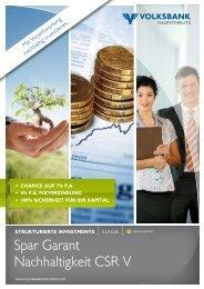 Spar Garant Nachhaltigkeit CSR V