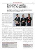 Zwei Sieger am «Prix Musique 2009 - Schweizer Blasmusikverband - Seite 7