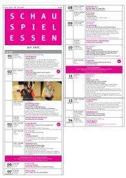 Poetry Slam - Schauspiel Essen