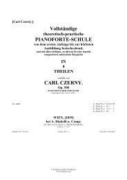 Vollständige PIANOFORTE-SCHULE CARL ... - Walter Cosand